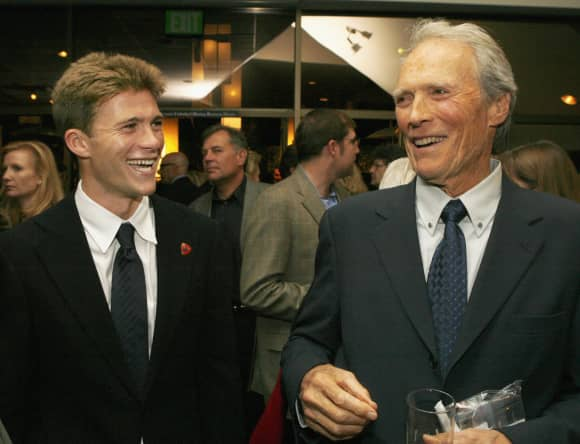 Father and Son: Scott and Clint Eastwood