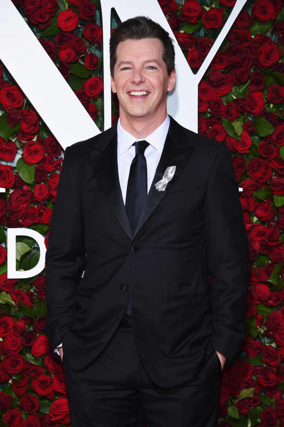 Sean Hayes at the 70th Tony Awards