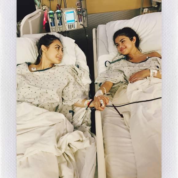 Selenas Gomez' Freundin Francia Raisa hat ihr eine Niere gespendet