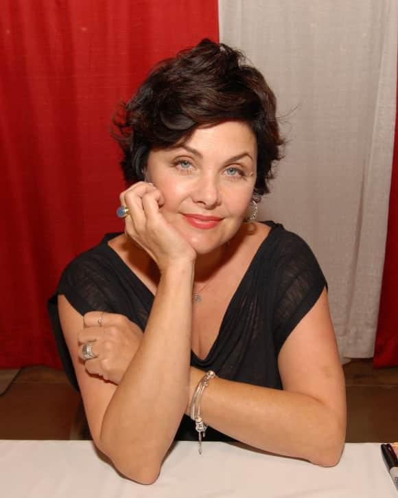 """""""Twin Peaks"""" star Sherilyn Fenn today"""