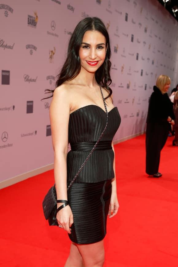 Ex-GZSZ-Star Sila Sahin auf dem roten Teppich