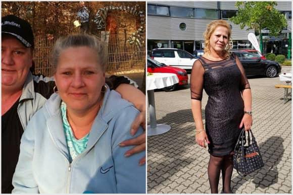 Silvia Wollny im Jahr 2012 und 2014