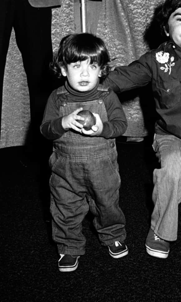 TBBT-star Simon Helberg as a child