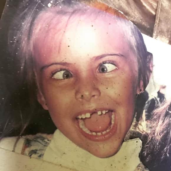 Sophia Thomalla als Kind - Immer für einen Spaß zu haben