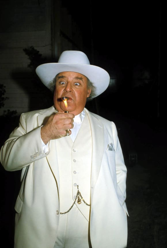 "Sorrell Booke as ""Boss Hogg"" in ""The Dukes Of Hazzard"""