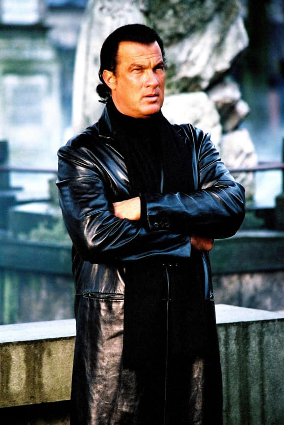 "Steven Seagal in ""Under Siege"""