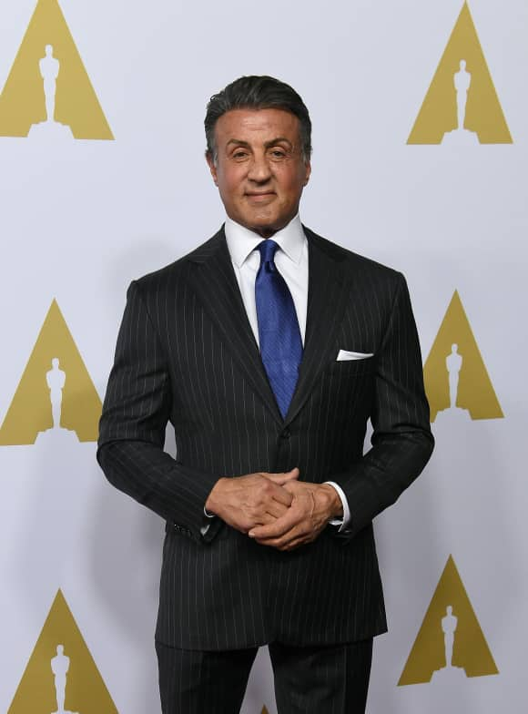 Sylvester Stallone had to sleep in a bus station for a few weeks