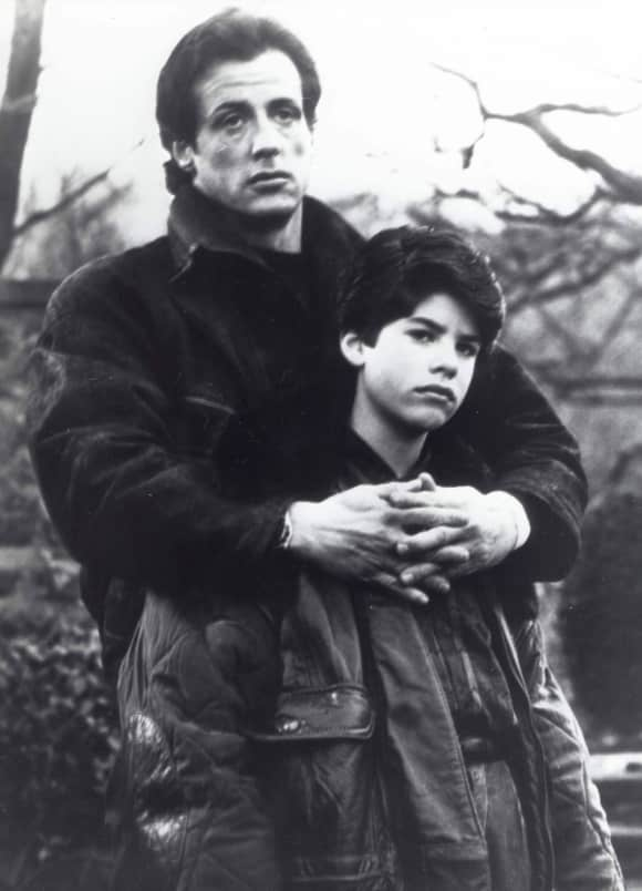 "Sylvester Stallone and his son Sage Stallone both starred in ""Rocky"""