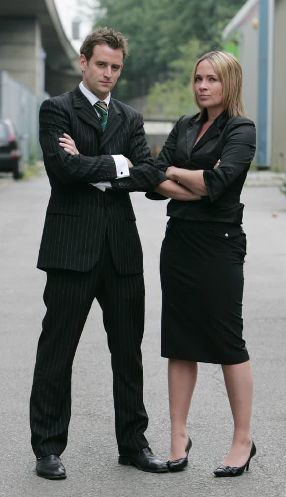 The Apprentice Finalists Simon Ambrose and Kristina Grimes