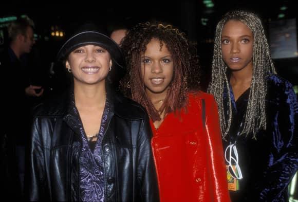 Au dem Höhepunkt ihrer Karriere: Toc Tac Toe im Jahr 1999