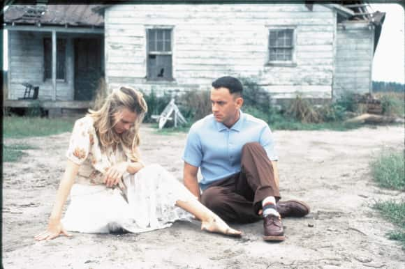 "Tom Hanks and Robin Wright in ""Forrest Gump"""