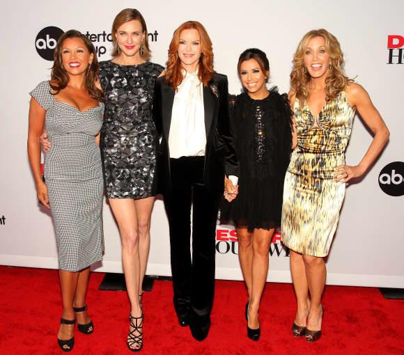 Vanessa Williams, Brenda Strong, Marcia Cross, Eva Longoria und Felicity Huffman
