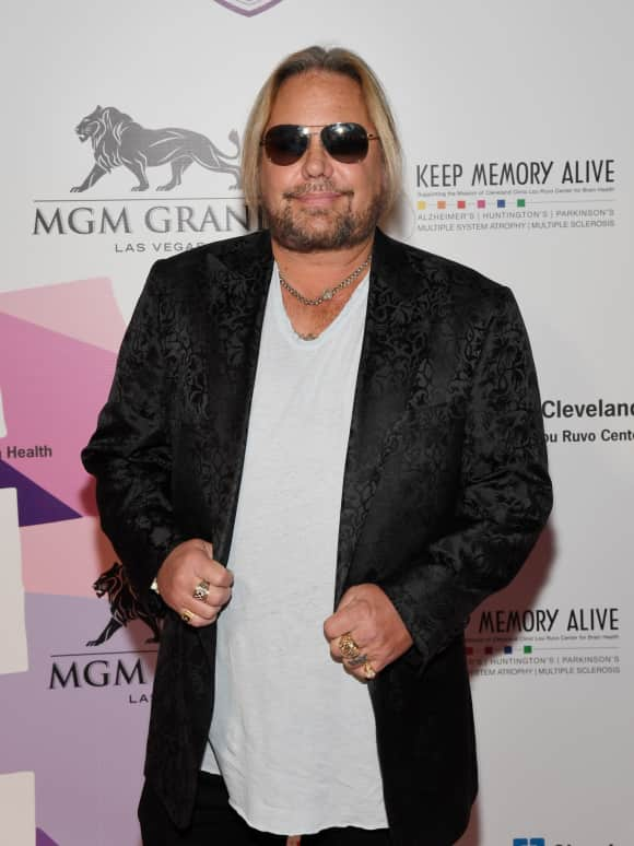 Vince Neil Sänger Mötley Crüe