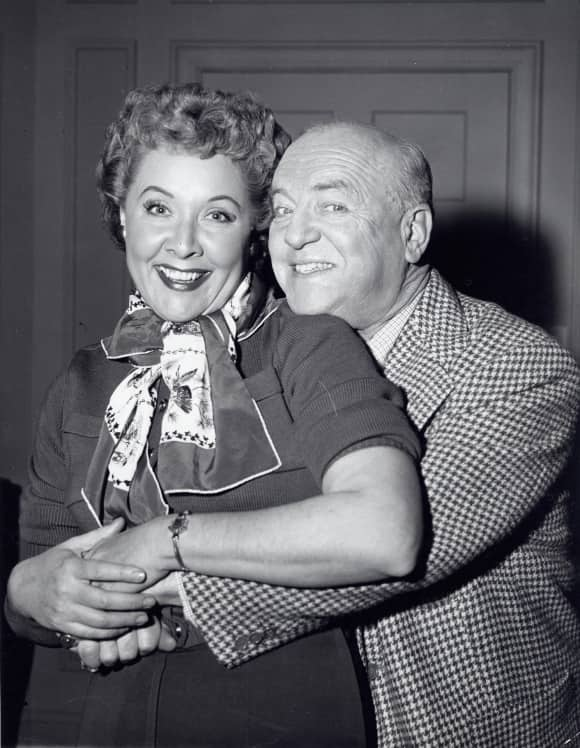 Vivian Vance and William Frawley in I Love Lucy