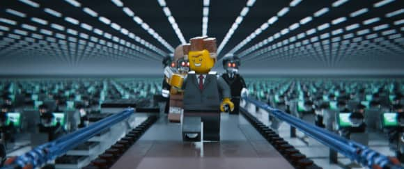 "Will Ferrell lending his voice in ""The Lego Movie"""