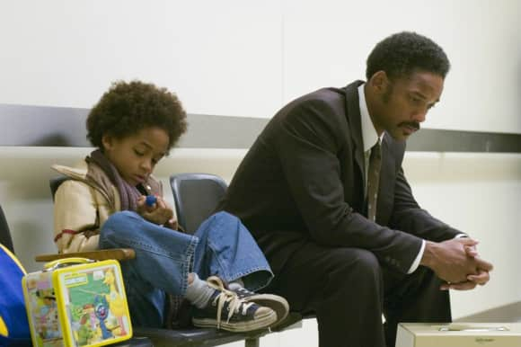 "Will Smith and Jaden Smith in ""The Pursuit of Happiness"""