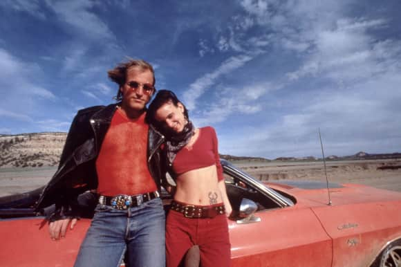 Woody Harrelson and Juliette Lewis different ending originally