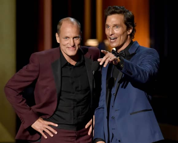 Woody Harrelson and Matthew McConaughey