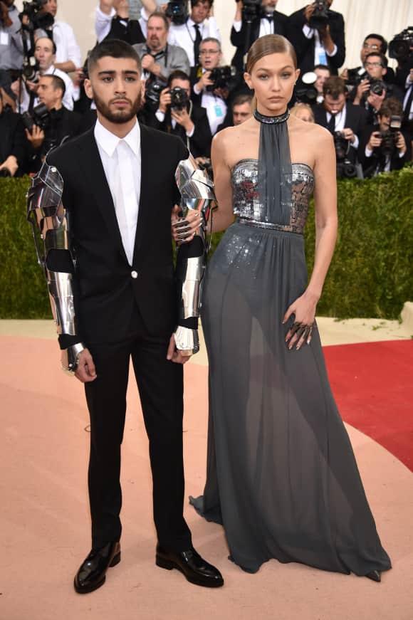 Zayn Malik und Gigi Hadid auf der Met Gala