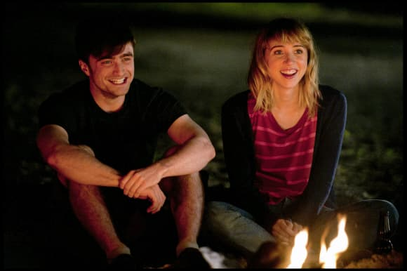 "Zoe Kazan and Daniel Radcliffe in ""What If"""