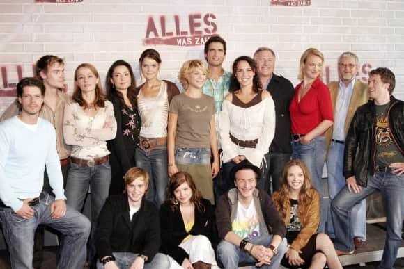 """""""Alles was zählt""""-Darsteller 2006"""