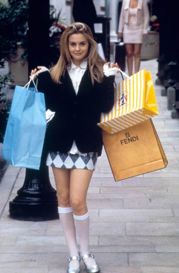 "Alicia Silverstone as ""Cher"" in ""Clueless"""