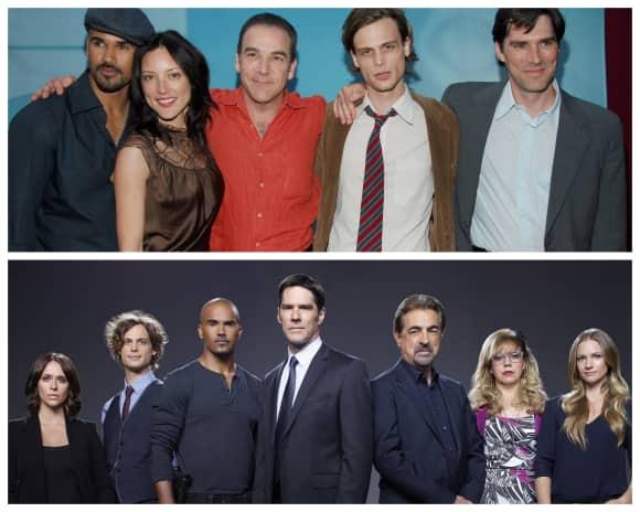 """Die Darsteller der Serie """"Criminal Minds"""" 2005 und 2016"""