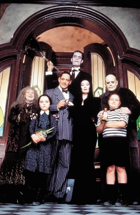 The Addams Family cast 1991