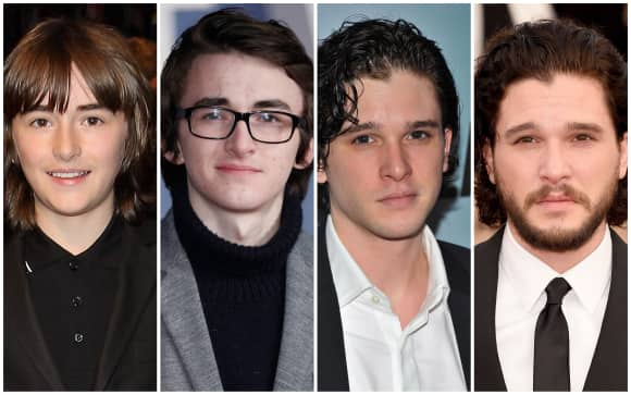 """Game of Thrones""-Cast: Früher/Heute"
