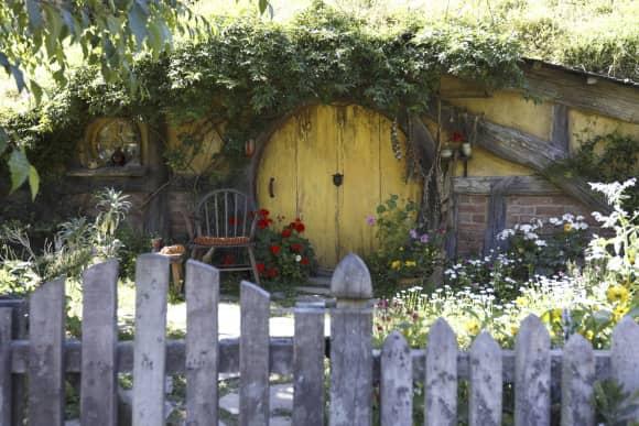 """""""Hobbiton"""" aus """"Herr der Ringe"""" liegt in Neuseeland."""