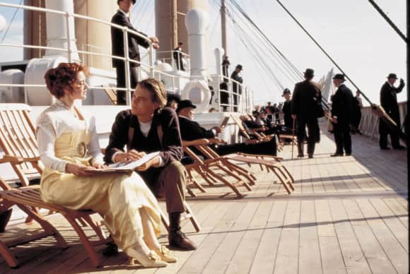 """Jack"" and ""Rose"" in Titanic"