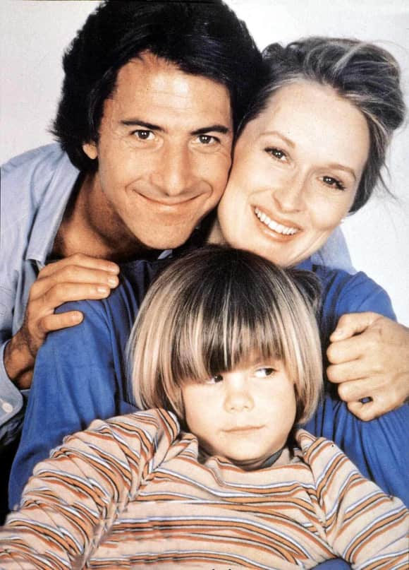 Dustin Hoffman, Meryl Streep and Justin Henry in Kramer vs. Kramer