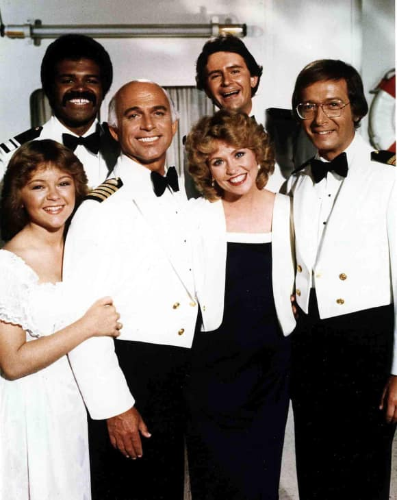 "The stars of ""The Love Boat"""