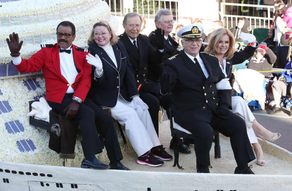 """The Love Boat"" Stars at the 126th Rose Parade in Pasadena"