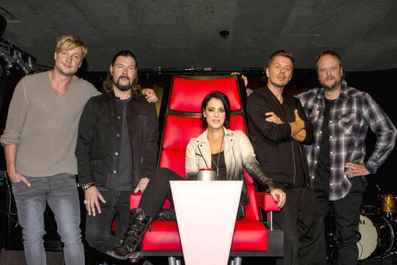 """The Voice of Germany""-Jury 2015"