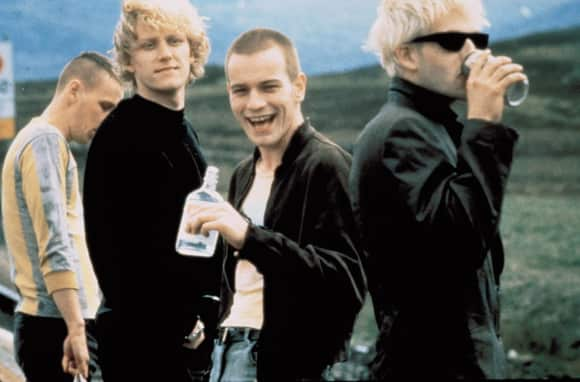 "The ""Trainspotting"" cast"