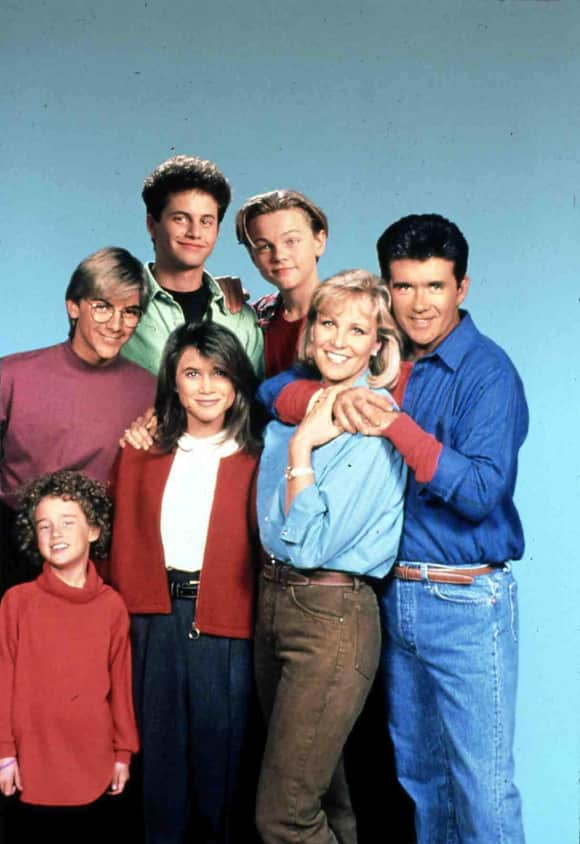 """Growing Pains"" cast"