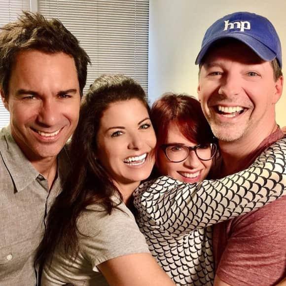 """Die Darsteller von """"Will & Grace"""" sind auch zehn Jahre nach dem Serien-Aus noch gut befreundet"""