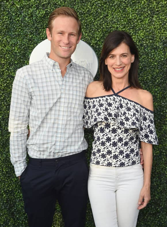 Aaron Endress-Fox und Perrey Reeves, Aaron Endress-Fox, Perrey Reeves, Aaron Endress-Fox und Perrey Reeves Kind, Aaron Endress-Fox und Perrey Reeves Baby