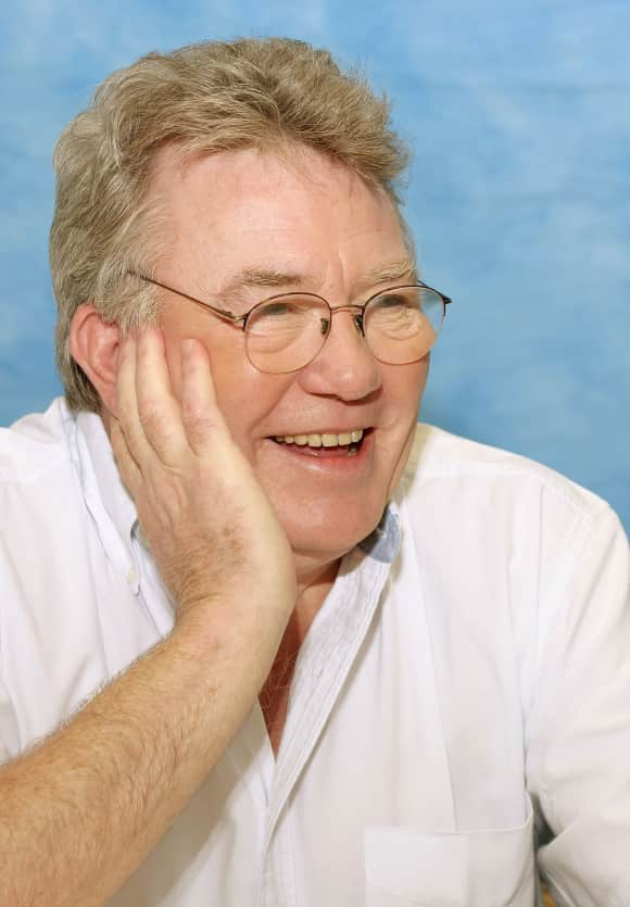 Actor Albert Finney at a press junket for his movie Big Fish in 2003.