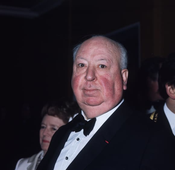 Sir Alfred Hitchcock was knighted in 1980