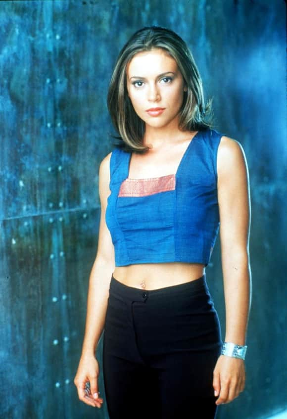 "Alyssa Milano played ""Phoebe Halliwell"" on Charmed."
