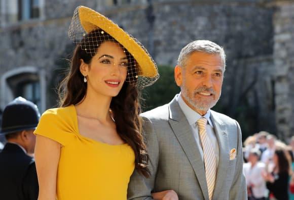 Prinz Harry Meghan Amal George Clooney