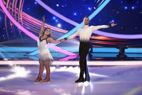 Dancing on Ice Eric Stehfest Amani Fancy