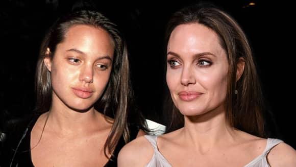 Angelina Jolie früher und heute