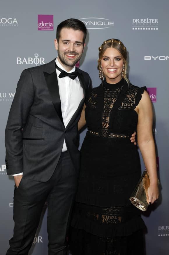 Angelina Kirsch und Mario Dornbach sind ein Paar
