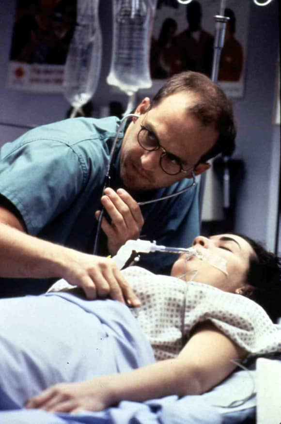 "Anthony Edwards alias ""Dr. Mark Greene"" in ""Emergency Room"""