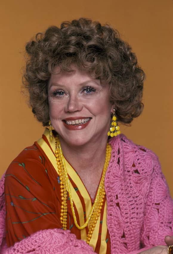 "Audra Lindley in ""Three's Company"""