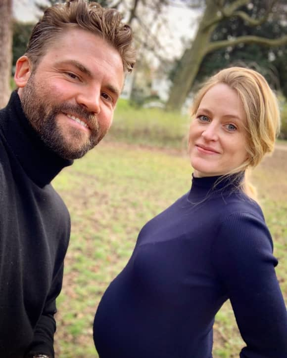 """""""Unter uns""""-Darsteller Benjamin Heinrich und seine Frau Antje auf Instagram"""