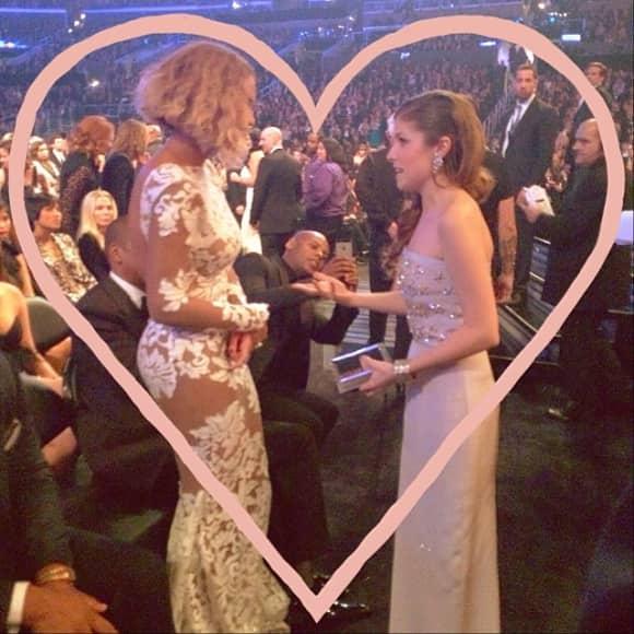 Beyoncé und Anna Kendrick